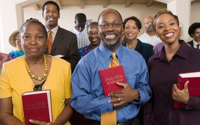 イースターサンデーの黒人教会への異教徒のガイド
