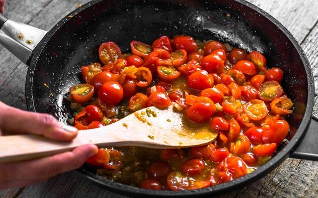 Les tomates cerises sont la tomate parfaite pour le moment