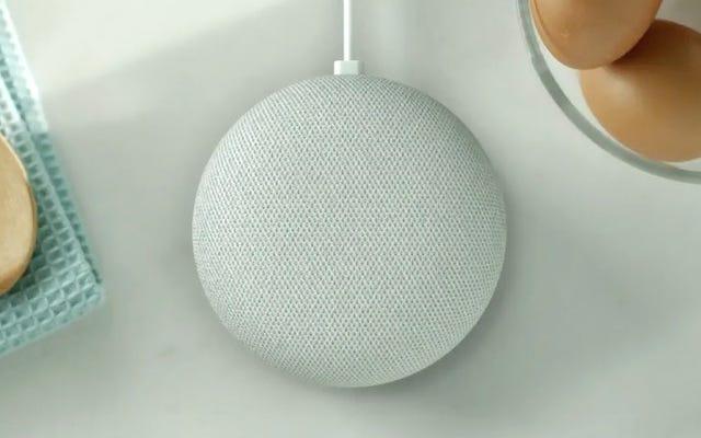 Google Home Mini là một Google Home nhưng Mini