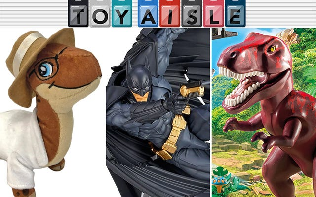 Cape Batman yang Sangat Mungkin, dan Lebih Banyak Mainan Paling Menyenangkan Minggu Ini