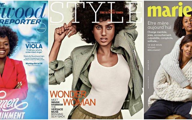 やりました!2018年は雑誌の表紙の多様性にとって記録的な年でした