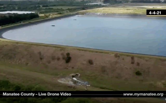 フロリダの廃水貯水池での危機は、私たちの弱いインフラストラクチャのリスクを示しています