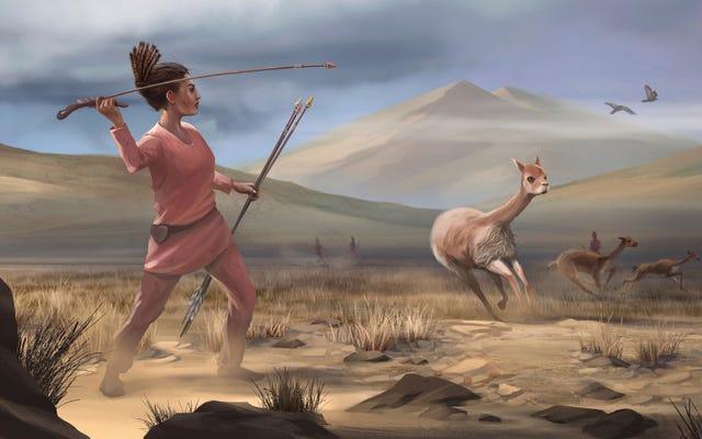 9、000年前の女性ハンターの埋葬は先史時代のジェンダーの役割についての信念を覆す