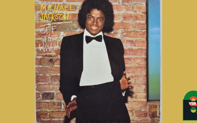 28 Days of Album Cover Blackness With VSB, Day 26: Off The Wall de Michael Jackson (1979)