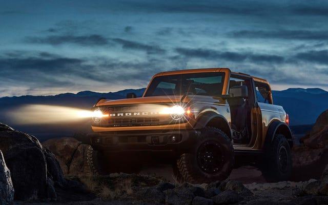 Nowy Ford Bronco Hybrid ujawniony przez oprogramowanie Leaked Sync