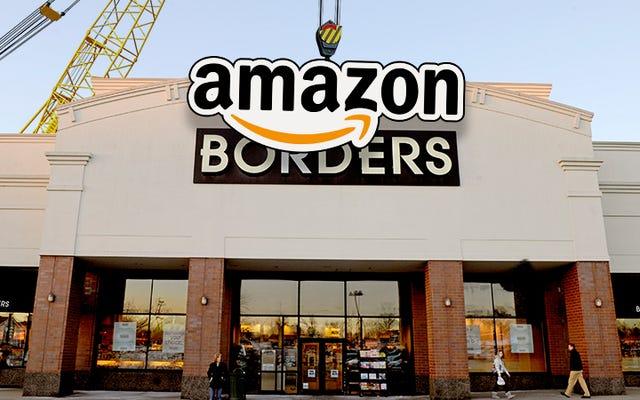 アマゾンは、人生は私たち全員に悪ふざけをしているので、物理的な書店を開きます[更新]
