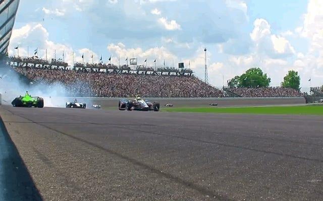 ダニカ・パトリックがインディアナポリス500を破り、彼女の最後のレース