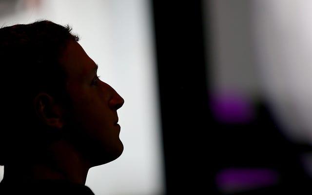 La dernière solution de Facebook aux fausses nouvelles? Plus de machines, bébé