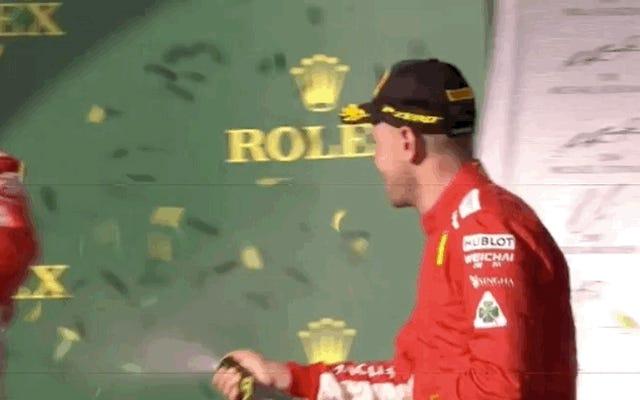 F1のキミライコネンを私の主要なライフイベントのすべてのお祝いに招待したい