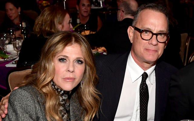 Tom Hanks y Rita Wilson dan positivo por coronavirus