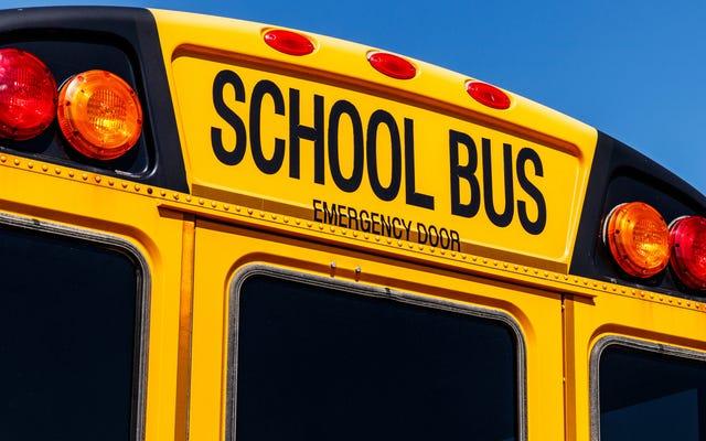 スクールバスでのヘイトクライム容疑で逮捕された11歳と10歳の白人少女10歳の黒人少女の殴打