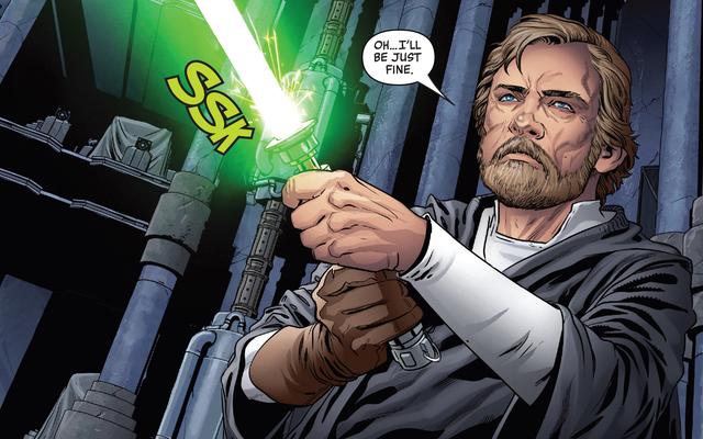 Le moment La légende de Luke Skywalker est devenue le plus grand spectre de Ben Solo