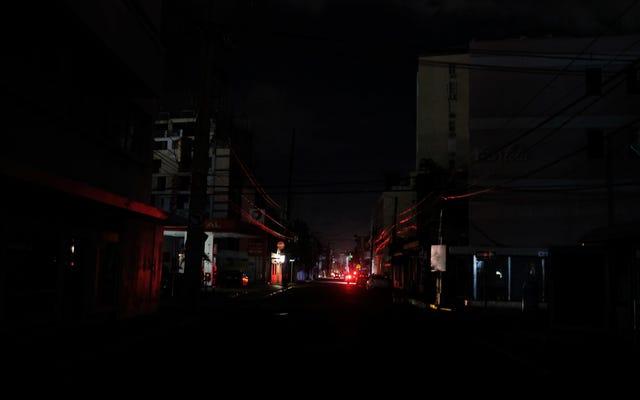 マグニチュード6.4の地震がプエルトリコ全体の電力をノックアウトしました
