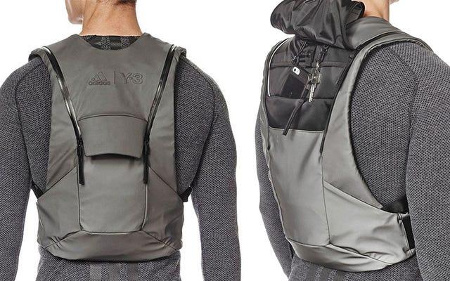 A mochila colete de baixo perfil da Adidas é melhor que o cinto de utilidades do Batman