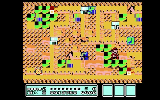 Nhìn lại các cấp độ trục trặc bí mật của Super Mario Bros.
