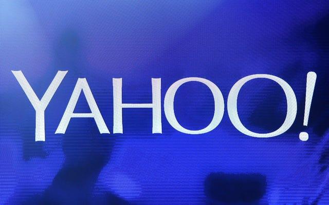 Yahoo Answers est-il en train de mourir? Oui, fils, oui c'est