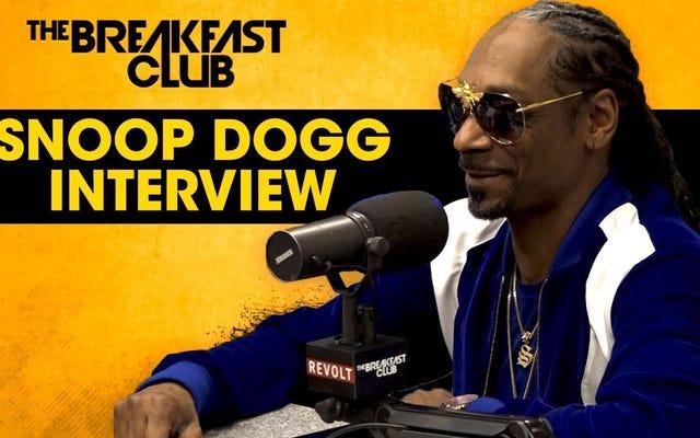 Snoop, por favor, perdónanos tu rabia por Trump, el señor 'Las perras no son una mierda'