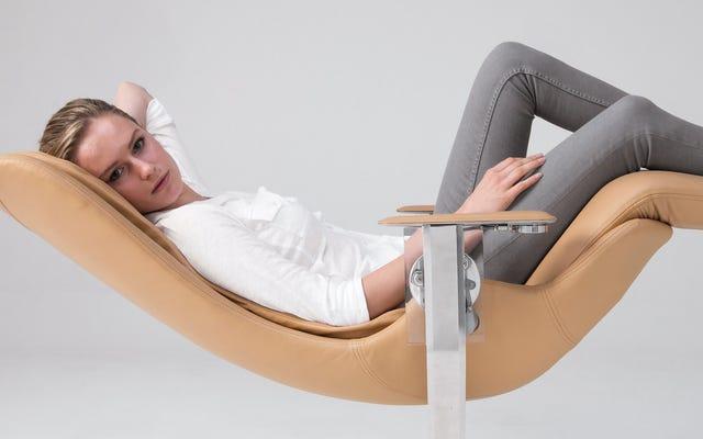 あなたのお尻は完全にあなたが無重力を感じるようにするこの26,000ドルの椅子に値する