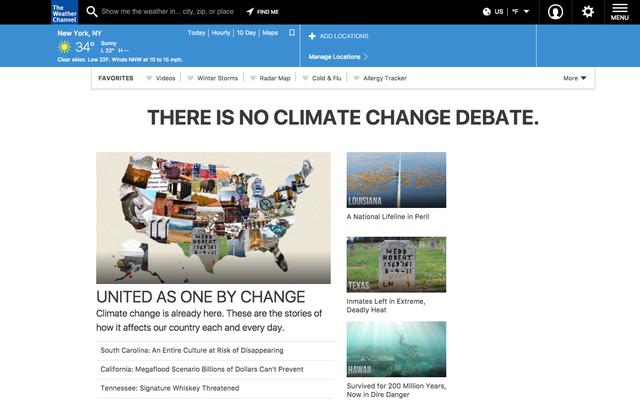 Hava Kanalı Ana Sayfası Burada Herkese İklim Değişikliğinin Gerçek Olduğunu Hatırlatıyor
