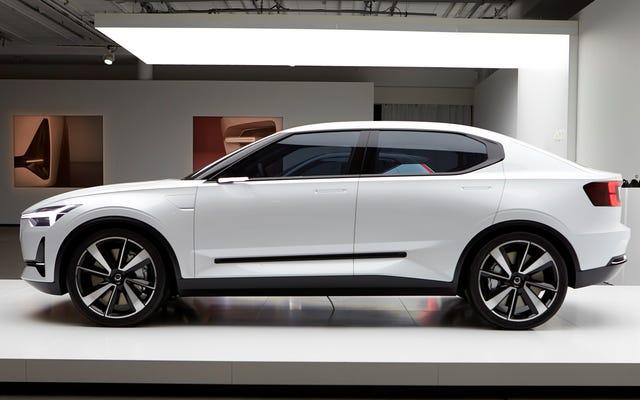 La première voiture électrique de Volvo sera une berline: rapport