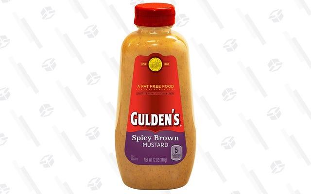 Spicy Brown de Gulden es la mostaza favorita de nuestros lectores