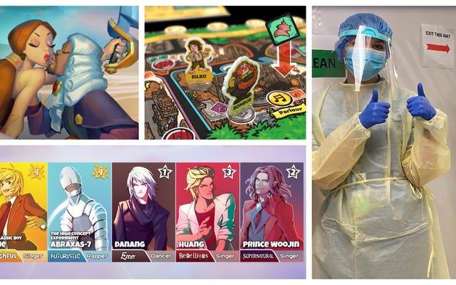 Talisman Finds the Force, летний онлайн-лагерь D&D и многое другое в игровых новостях