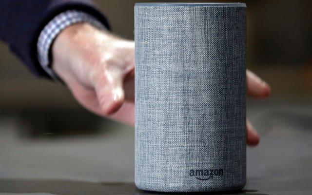 ผู้ช่วยเหลือมนุษย์ของ Amazon กำลังฟังการบันทึกของ Alexa อย่างเงียบ ๆ