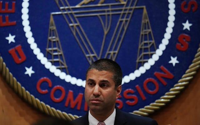 Le président de la FCC a discrètement abandonné sa tentative de `` clarifier '' l'article 230