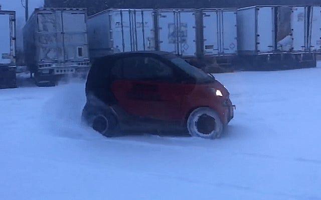 明らかに、ヤマハで交換されたスマートカーの最も高い使用法は、良いスノーナッツをリッピングすることです