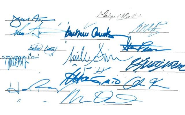 132 républicains de la Chambre n'ont pas signé cette lettre soutenant la fin de la neutralité du Net - mais qui l'a fait?