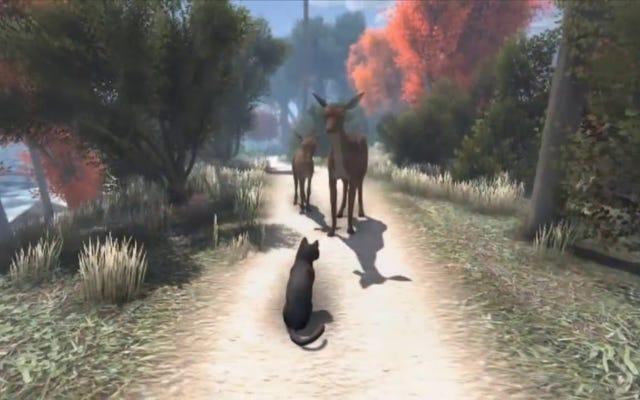 Participez, Internet: Aidez à financer un jeu PC en monde ouvert sur les chats qui résolvent des mystères