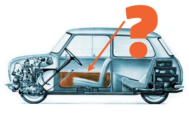 簡単な質問:元のミニのドアポケットは何を保持するように設計されていましたか?
