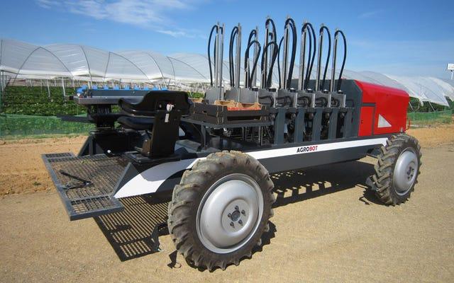13 fascinantes robots agrícolas que alimentarán a los humanos del futuro