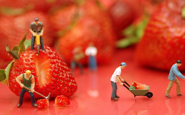 Las comidas saludables deben tener porciones más grandes, no más pequeñas