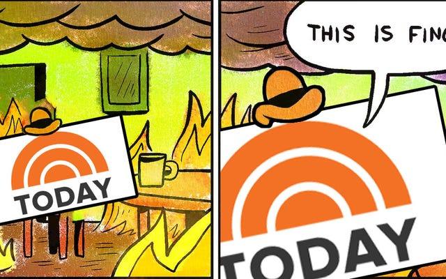 NBCは、メーガン・ケリーが今日サバンナ・ガスリーのスポットを奪うことはないと主張しているが、私はそれを購入していない