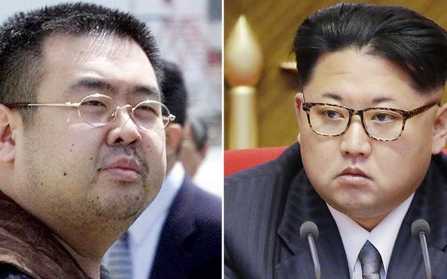 北朝鮮はキム・ジョンウンの兄弟を禁止物質で殺害したとして制裁