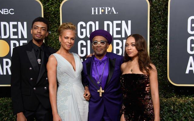 Satchel e Jackson Lee, figlia e figlio di Spike e Tonya Lewis Lee, sono gli ambasciatori del Golden Globe 2021