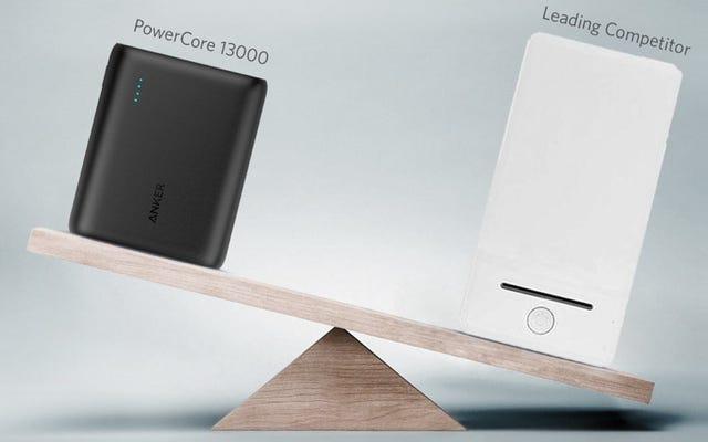 La tua scelta per la migliore batteria USB: Anker PowerCore