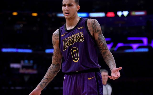 Kyle Kuzma profite au maximum de sa chance de diriger les Lakers sans LeBron