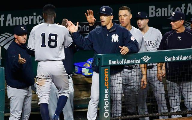 Enfer oui, maintenant les Red Sox accusent les Yankees de tricher