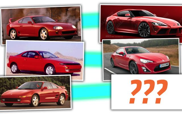 Toyota insinúa una nueva línea de autos MR2 y tres deportivos