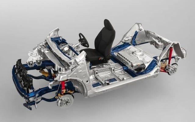 टोयोटा की नई GA-B प्लेटफॉर्म छोटी कारों के लिए है