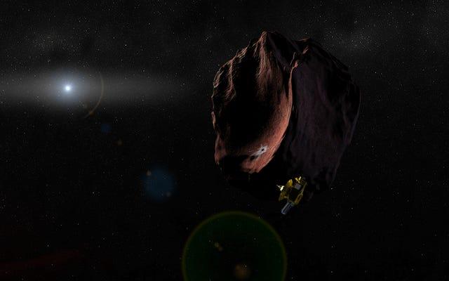 NASAは数十億マイル離れたカイパーベルトオブジェクトの不可能な一瞥をキャプチャします