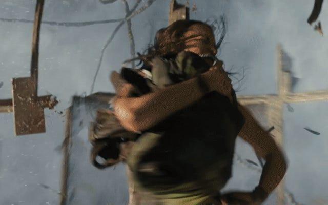 ในตัวอย่างใหม่ Tomb Raider ลาร่าครอฟต์เข้าสู่อันตรายสำหรับครอบครัว