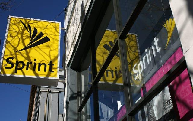 Sprint thuyết phục thuyết phục vùng phủ sóng LTE của mình