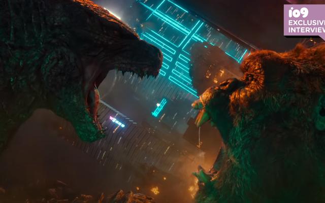 Godzilla vs le directeur de Kong sur l'héritage de l'héritage de 2 titans