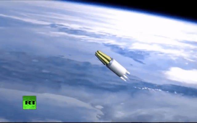 ロシアの未来の武器を示す新しいアニメーションビデオのプーチン核兵器フロリダ