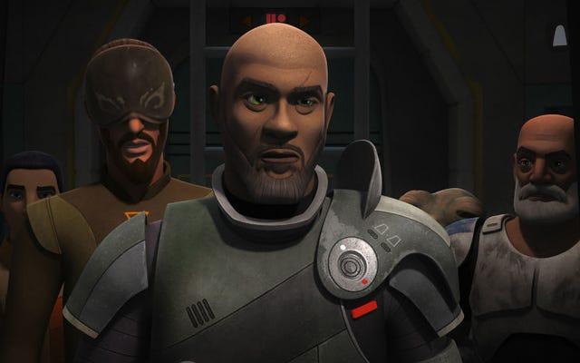 Los últimos rebeldes de Star Wars no escatimaron en las conexiones de Rogue One