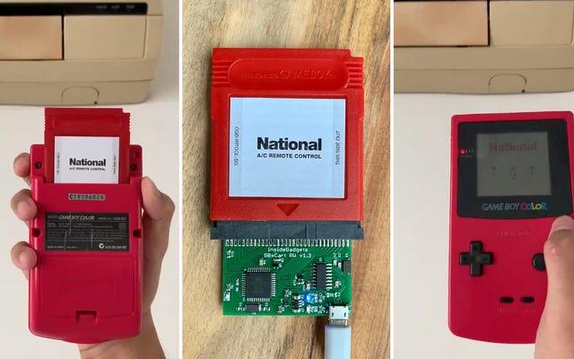 Controlar un aire acondicionado podría ser el juego de Game Boy menos emocionante jamás creado