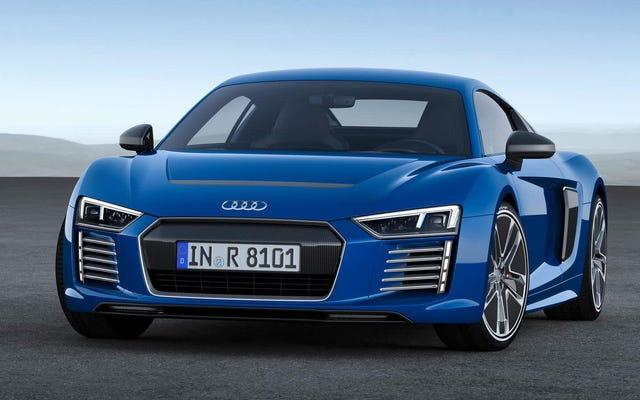 Audi R8 chạy điện có thể trở lại vào năm sau để dẫn đầu cuộc đẩy EV mới: Báo cáo